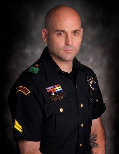 Police Shield Recipient Corporal Chris Grollnek