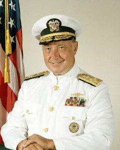 Admiral Ace Lyons at National Press Club