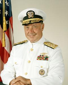 Admiral Ace Lyons at National Press Club